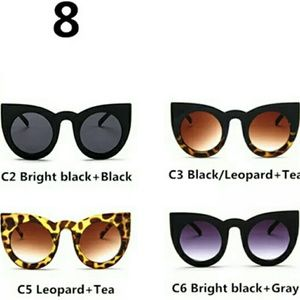 BNIP WOMAN'S CAT EYE SUNGLASSES